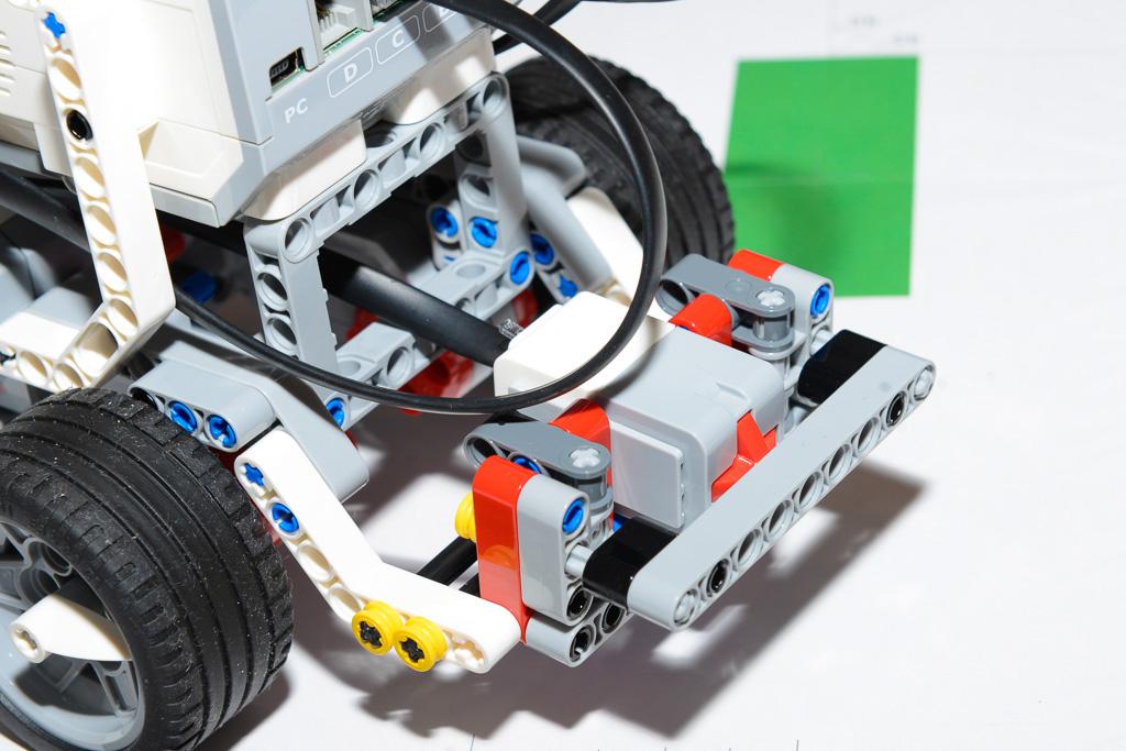 スイッチセンサーを使う[LV1] LEGO EV3