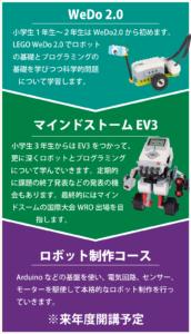 LEGO WeDo2.0 > EV3