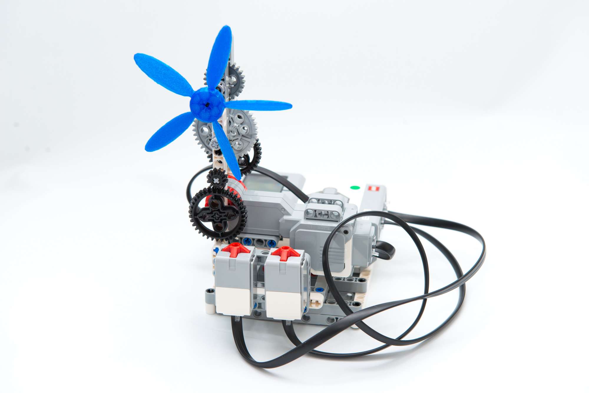 EV3で扇風機を作る