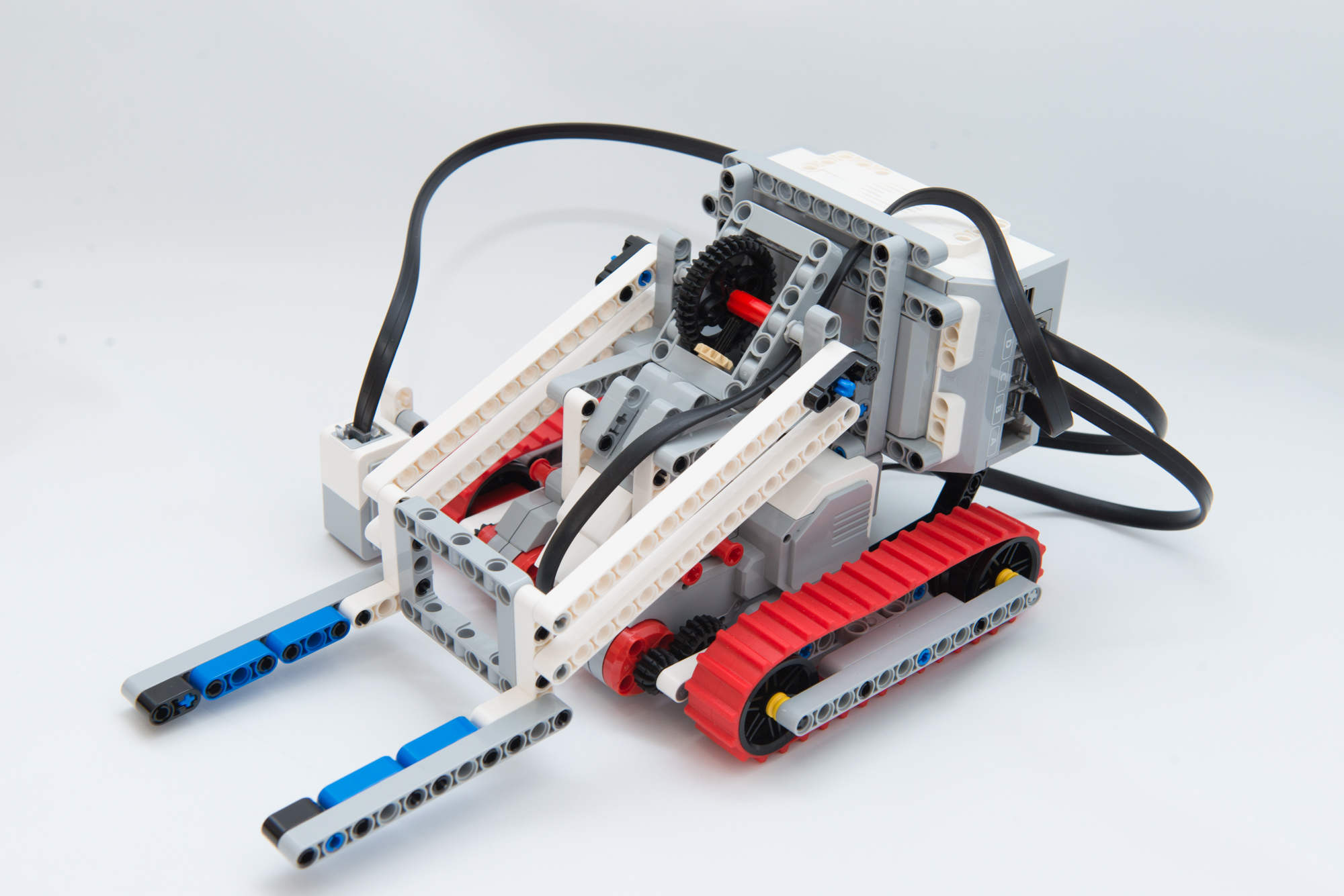 フォークリフトロボをLEGO EV3で作る