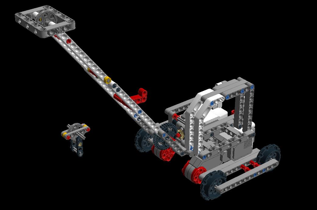 レゴEV3でクレーン車を作る