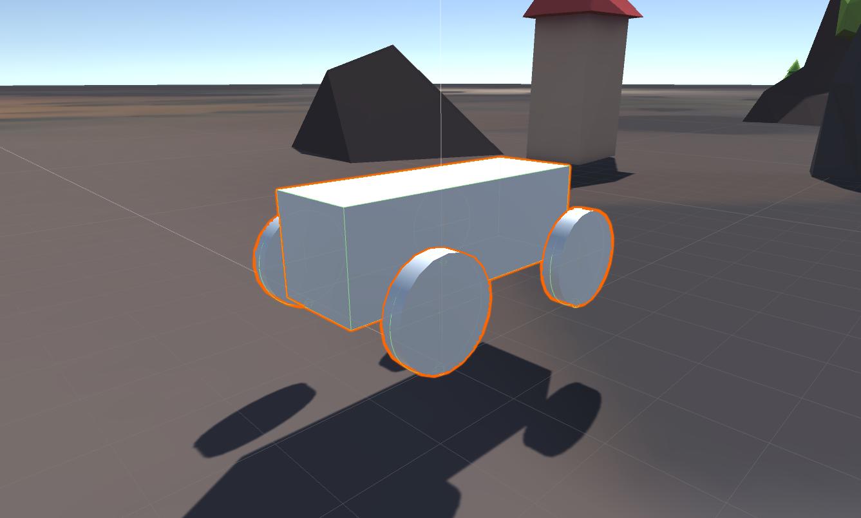 【UNITY】自作3D自動車を作成する