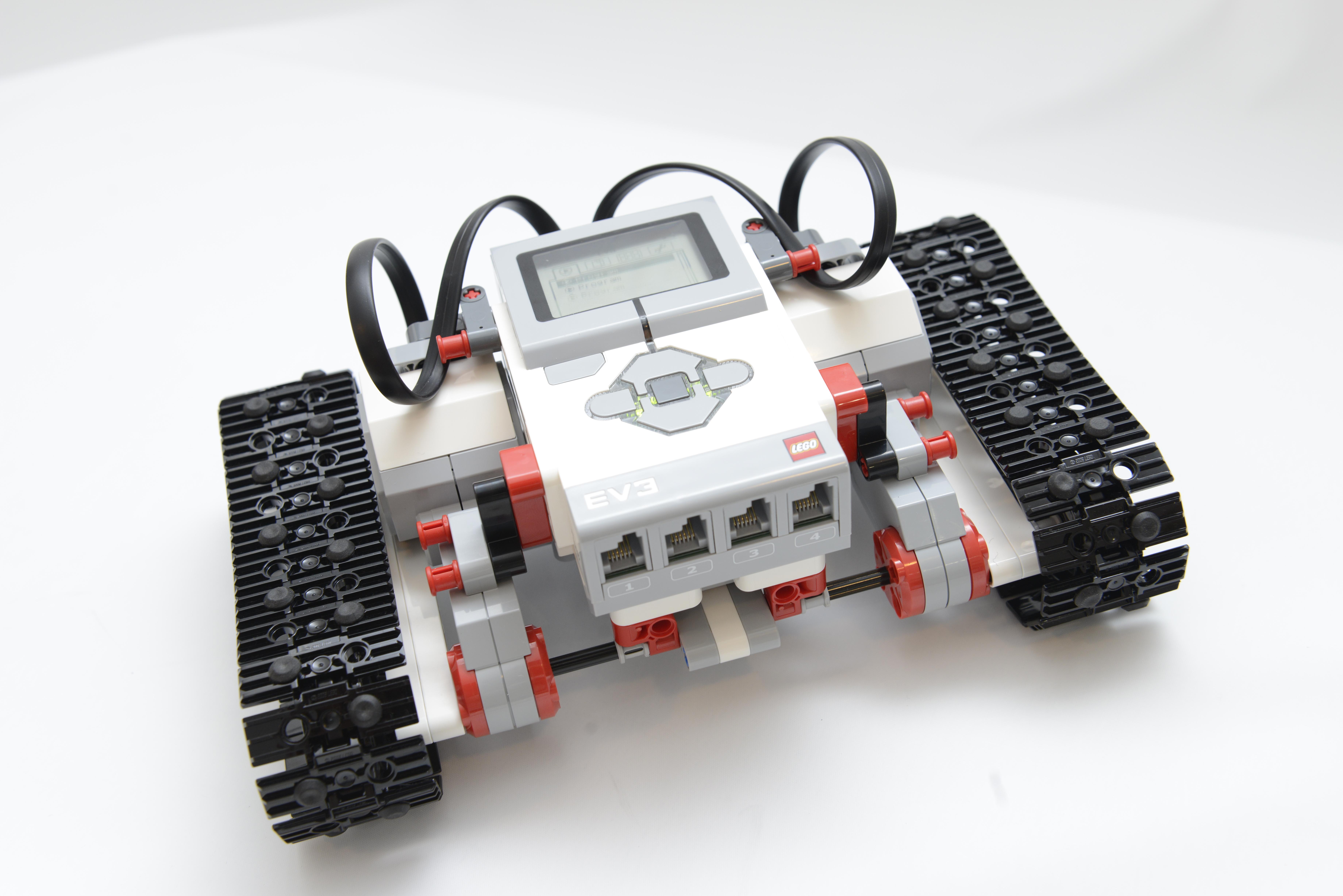 キャタピラーロボット ベース図