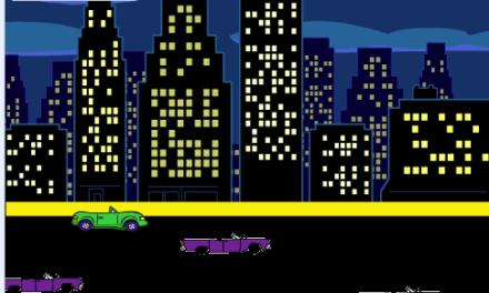 スクラッチ-「車をよけろ!」ゲーム